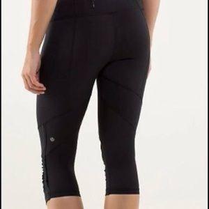 Lululemon Run for your life crop leggings